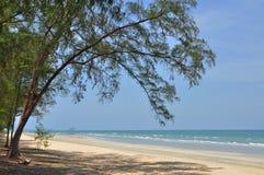 Pokojowa plaża Obrazy Royalty Free