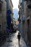 Pokojowa ulica, Omis Zdjęcia Stock