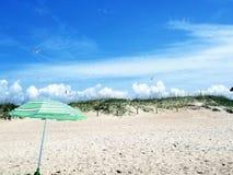 Pokojowy dzień przy plażą Obrazy Royalty Free