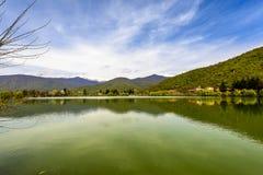 Pokojowy Jeziorny Vista obraz royalty free