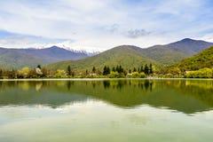 Pokojowy Jeziorny Vista obraz stock