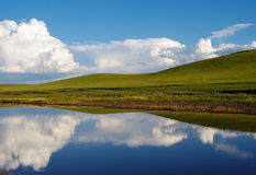 Pokojowy jezioro Obrazy Royalty Free