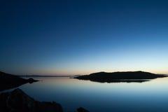 pokojowy morze Fotografia Royalty Free