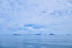 Pokojowy morze zdjęcie stock