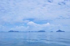 Pokojowy morze obrazy royalty free