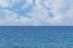 Pokojowy oceanu krajobraz obraz stock