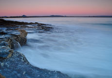 pokojowy wschód słońca Zdjęcie Stock