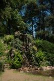 Pokojowy zieleń park w Sandanski mieście Zdjęcie Royalty Free