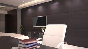 Pokoju Hotelowego biurko Fotografia Royalty Free