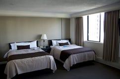 Pokoju hotelowego naturalny oświetlenie Fotografia Stock