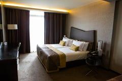 Pokoju hotelowego wnętrze Zdjęcie Royalty Free