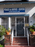 Pokoju i sprawiedliwości centrum Obrazy Stock