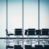 Pokoju konferencyjnego wnętrze zdjęcie royalty free
