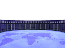 pokoju na serwerze komputerowego royalty ilustracja