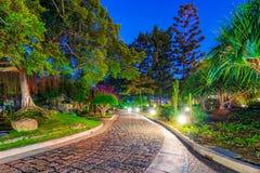 Pokoju Pamiątkowego parka chodząca ścieżka fotografia royalty free