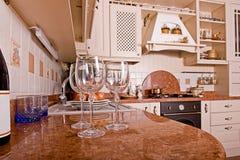 pokoju wewnętrzny stół Fotografia Stock