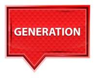 Pokolenie róży menchii sztandaru mglisty guzik ilustracji
