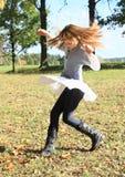Pokrętna mała dziewczynka Zdjęcia Royalty Free