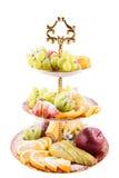 Pokrajać świeże owoc zdjęcie royalty free