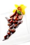 pokrajać kaczki mięso Fotografia Royalty Free