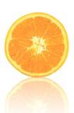 pokrajać owocowa pomarańcze Obraz Royalty Free
