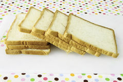 Pokrajać chleb Obrazy Royalty Free