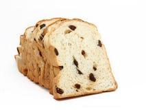 pokrajać chlebowa rodzynka Zdjęcie Royalty Free