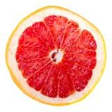 pokrajać grapefruitowa czerwień Obrazy Royalty Free