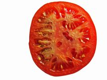 pokrajać pomidoru Obrazy Royalty Free