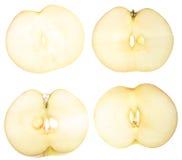 pokroić jabłka Zdjęcie Royalty Free
