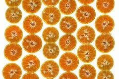 pokroić pomarańcze Zdjęcia Royalty Free