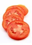 pokrojeni pomidory Zdjęcia Royalty Free