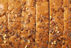 Pokrojona białego chleba bochenka skorupa Obraz Royalty Free