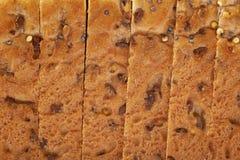 Pokrojona białego chleba bochenka skorupa Obrazy Royalty Free