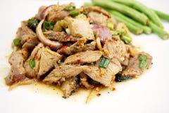 Pokrojona piec na grillu wieprzowiny sałatka 003 Zdjęcie Stock
