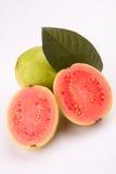 Pokrojona Różowa Guava owoc Fotografia Royalty Free