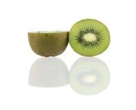 Pokrojona soczysta kiwi owoc Fotografia Stock