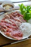 Pokrojona wołowina obraz stock