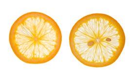 Pokrojone pomarańcze Fotografia Royalty Free