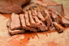 Pokrojonej wołowiny Tri porada Obraz Royalty Free