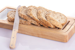 Pokrojony chleb   Obrazy Stock