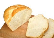 pokrojony chleba biel Zdjęcia Royalty Free