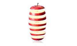 Pokrojony jabłko Fotografia Royalty Free
