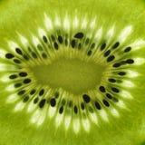 Pokrojony Kiwifruit szczegół Obrazy Stock