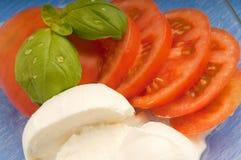 pokrojony mozzarella pomidor Obrazy Royalty Free