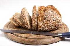 Pokrojony Wholemeal chleb (XXL) Obraz Royalty Free