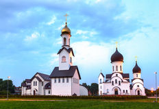 Pokrov-Nikolskaya orthodox church in Klaipeda, Lithuania. Stock Photography