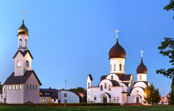 Pokrov-Nikolskaya orthodox church in Klaipeda, Lithuania. Royalty Free Stock Image