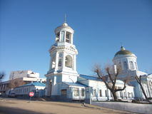 Pokrov& x27;s cathedral. Pokrov& x27;s kathedral in voronezh royalty free stock photos