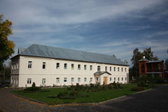 Pokrov. Vvedensky island hermitage. Cells. Royalty Free Stock Photos